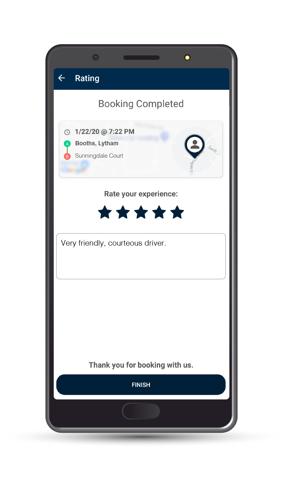Premier Taxis Review Us